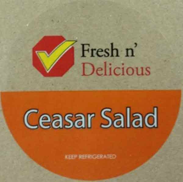 Fresh 'n Delicious: Ceasar Salad - 100 grams and 205 grams