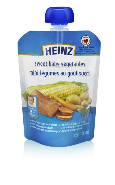 Sweet baby vegetables - 128 ml