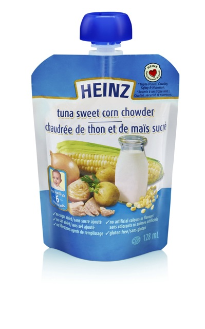 Tuna sweet corn chowder - 128 ml