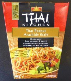 Thai Kitchen - Thai Peanut Microwave Rice Noodles and Sauce - 168 g