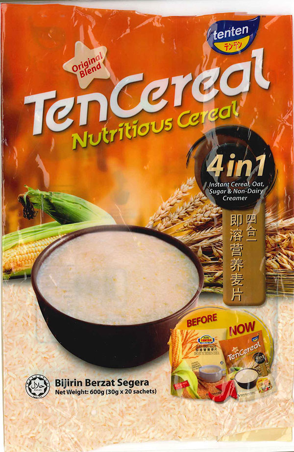 TenTen brand Ten Cereal 4 in 1 - 600 g