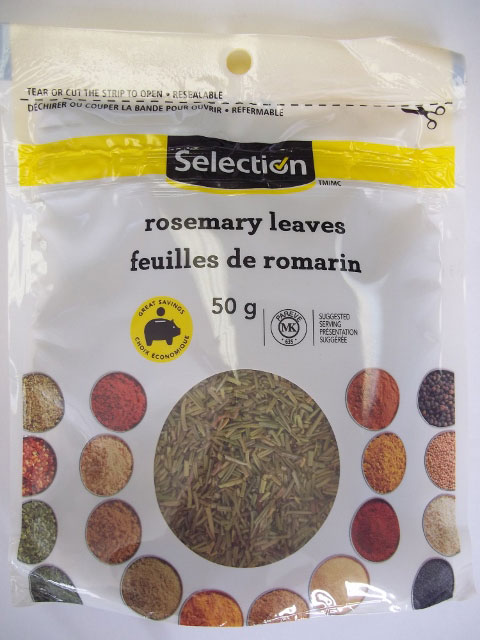 Selection - Rosemary Leaves - 50 grams