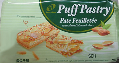 Puff Pastry, sweet almond - 96 grams