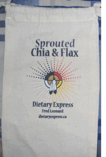 Dietary Express - Sprouted Chia & Flax - outer package