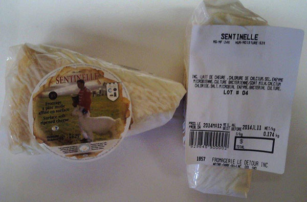 Sentinelle - surface ripened soft cheese (Lot # 4)