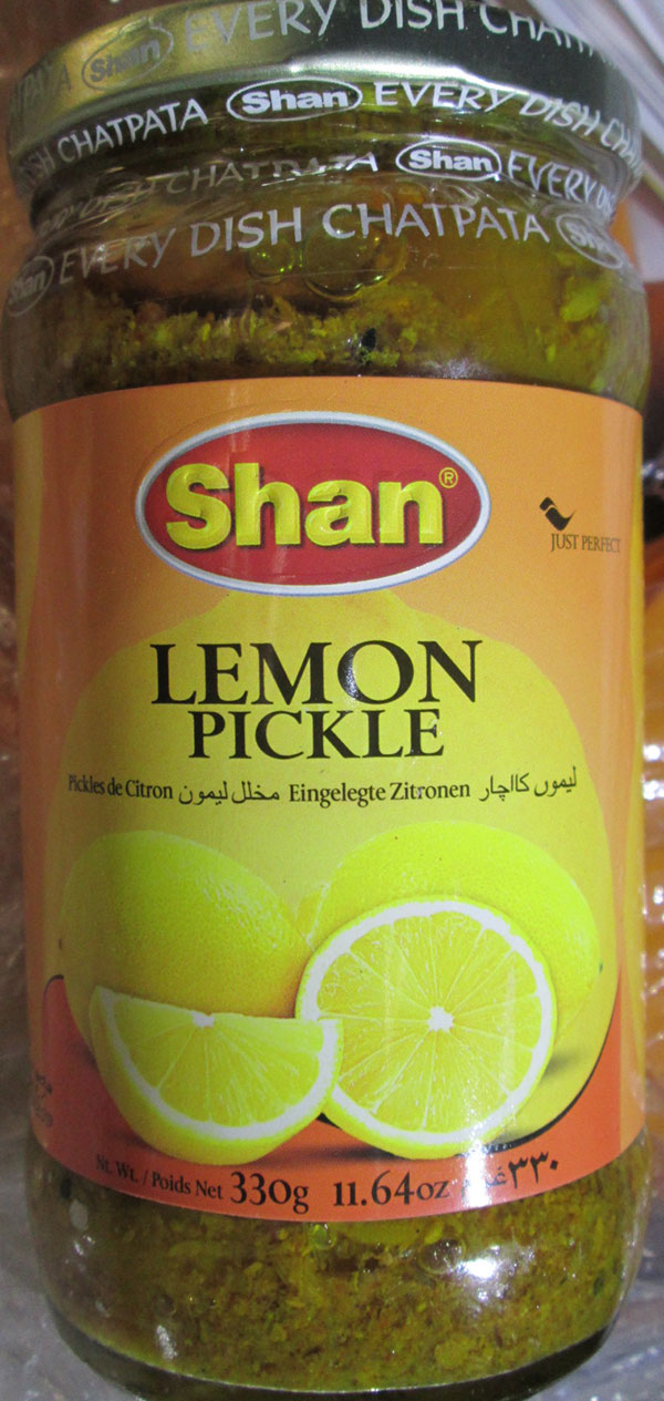 Shan - Lemon Pickle (in Oil) - 330 grams