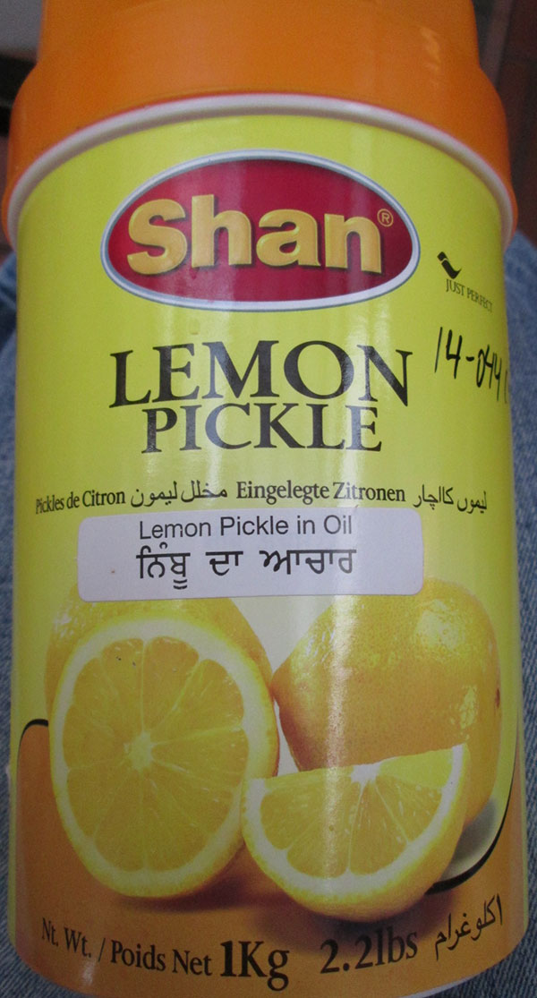 Shan - Lemon Pickle (in Oil) - 1 kilogram
