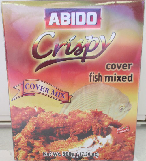 Abido - Crispy cover fish mixed Cover Mix - 500 grams
