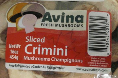 Avina Fresh Mushrooms