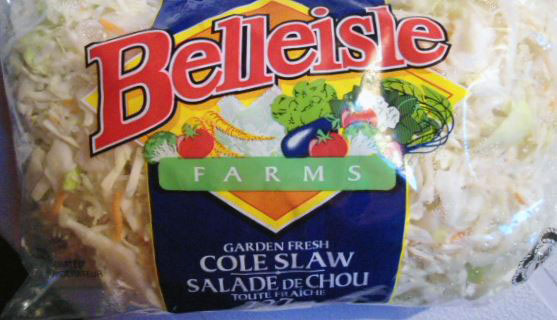 Belleisle Farms brand Garden Fresh Cole Slaw - 227 g