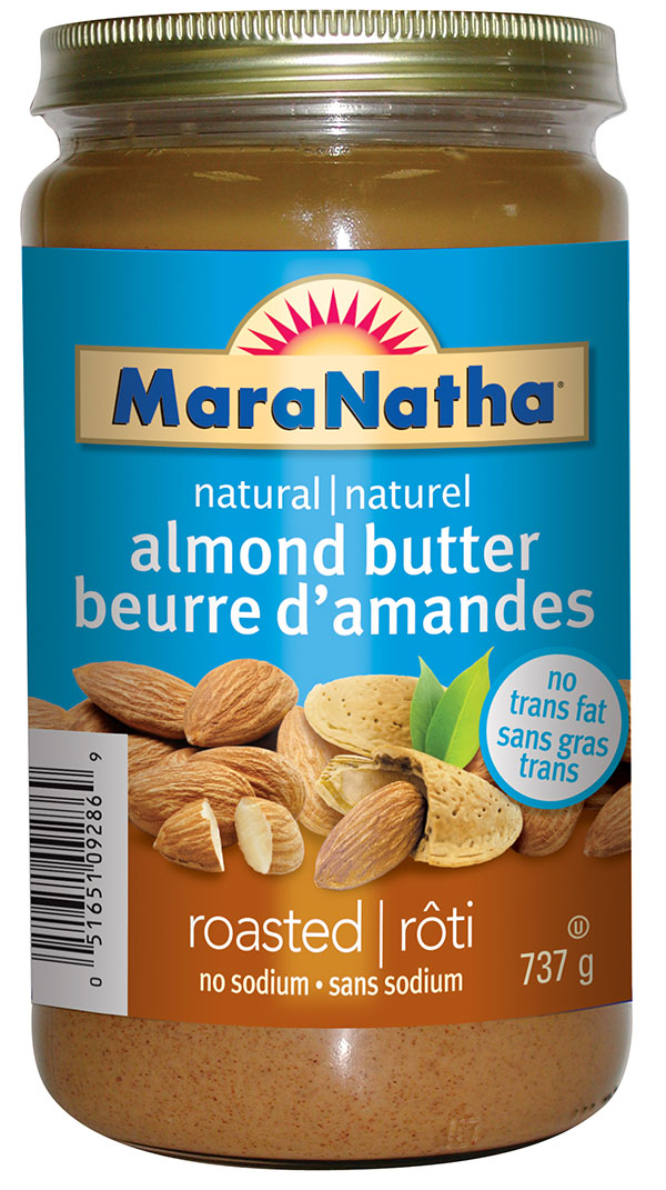 MaraNatha brand natural almond butter - roasted no sodium - 737 g
