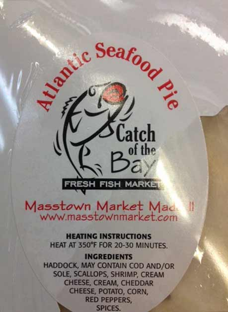 Catch of the Bay Fresh Fish Market - Atlantic Seafood Pie - 1200 grams