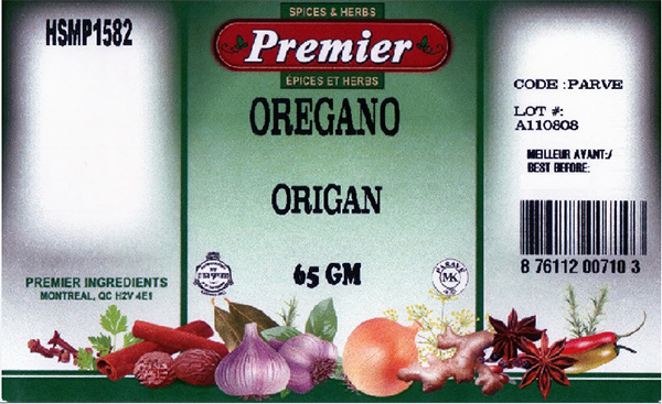 Premier: Oregano - 65 grams