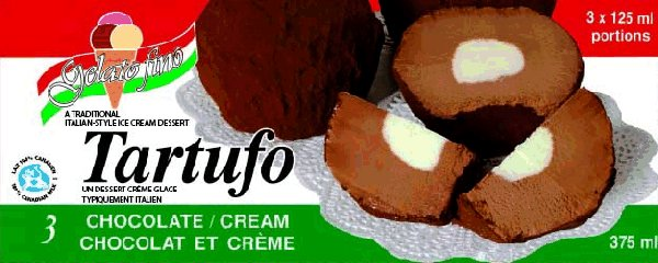Tartufo – Chocolate/Cream