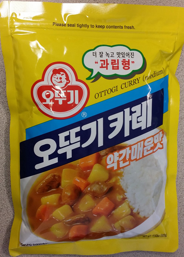 Ottogi Curry (medium) - 500 grams