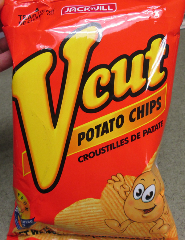 Jack 'N Jill – Potato Chips Vcut – Spicy Barbecue Flavor – 60 grams