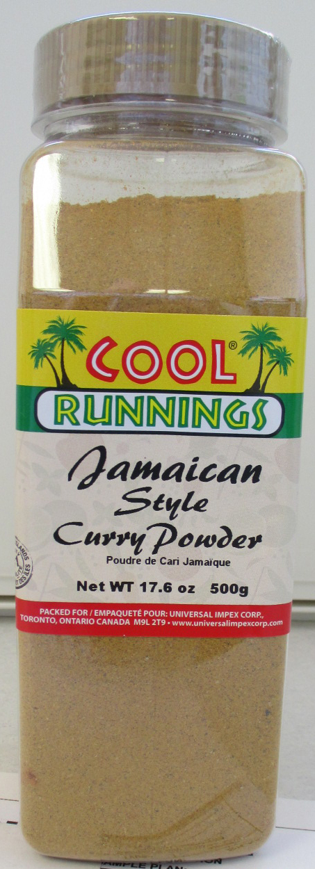 Cool Runnings - Jamaican Style Curry Powder - 500 grams