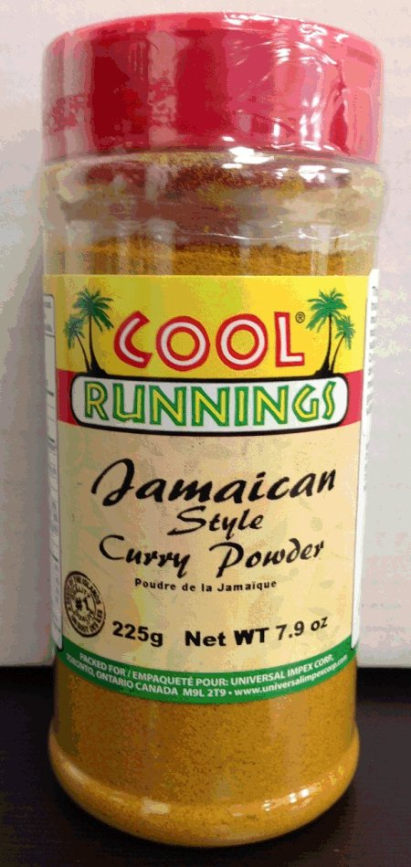 Cool Runnings - Jamaican Curry Powder - 225 gram