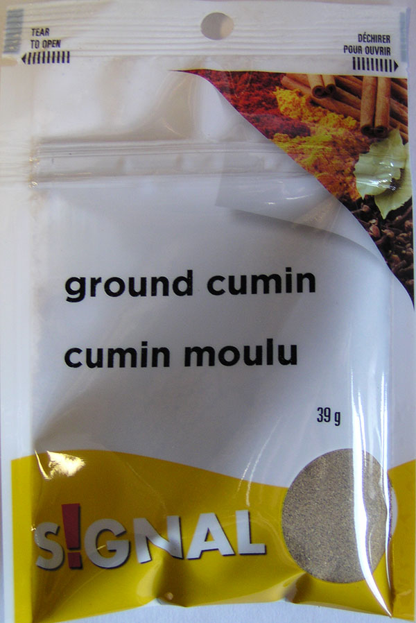 Signal - Ground Cumin - 39 grams - Front