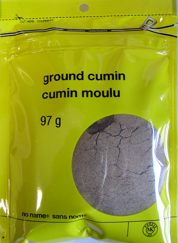 No Name - Ground Cumin - 97 grams - front