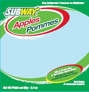 Subway - Pommes - 68 gramme