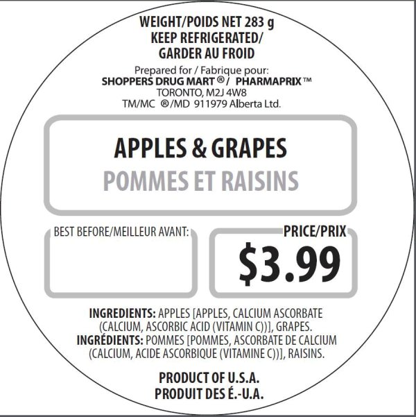 Shoppers Drug Mart - Apples and Grapes