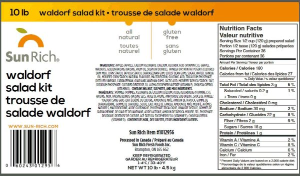 Sun Rich - Waldorf Salad Kit
