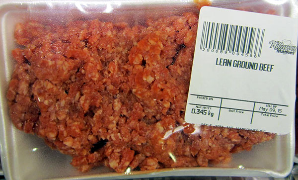 Killarney Market brand Lean Ground Beef