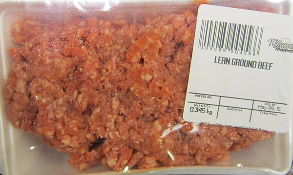 « Lean Ground Beef » de marque Killarney Market