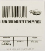 « Lean Ground Beef Family Pack » de marque Killarney Market