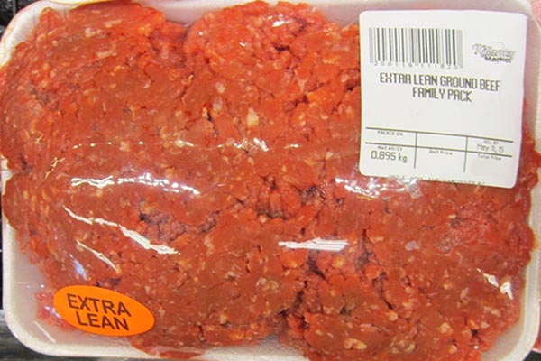 « Extra Lean Ground Beef Family Pack » de marque Killarney Market