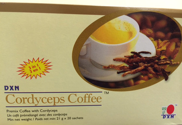 Cordyceps Coffee : Avant