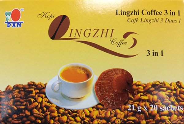 Lingzhi Coffee 3 in 1 : Avant