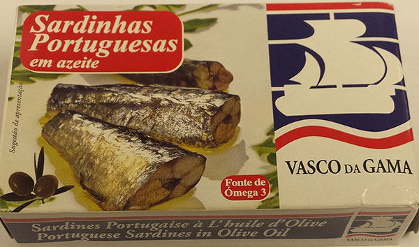 Portuguese Sardines in Olive Oil