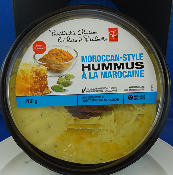 President's Choice - Moroccan-style hummus - 280 grams