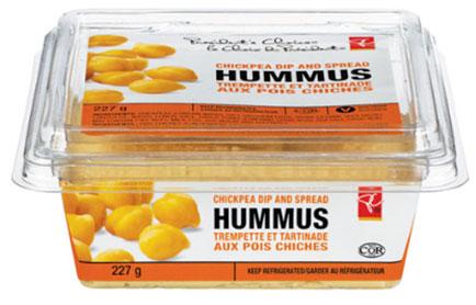 President's Choice brand Hummus - 227 g