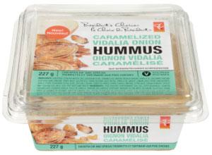 President's Choice brand Caramelized Vidalia Onion Hummus - 227 g