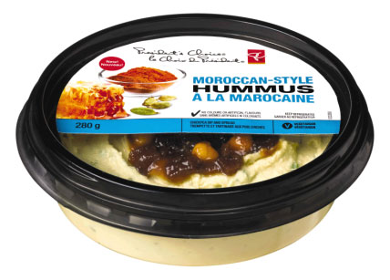 President's Choice brand Moroccan-Style Hummus - 280 g