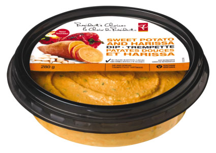 President's Choice brand Sweet Potato and Harissa Dip - 280 g