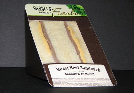 Roast Beef Sandwich - 166 g