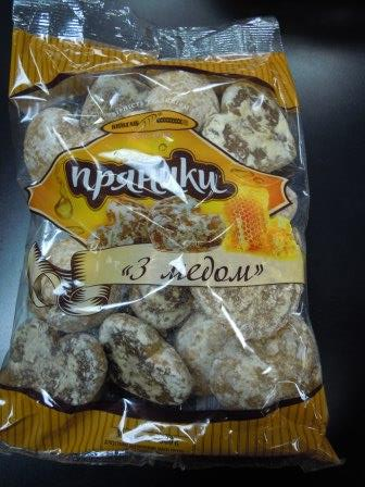 Medovyi biscuits	- 500 grams