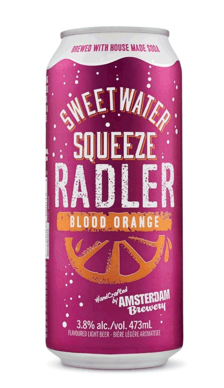 Amsterdam Brewery - Bière Sweetwater Squeeze Blood Orange Radler