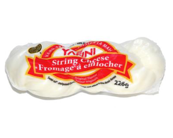Yanni Hand-Braided String Cheese – Original	- 226 grams