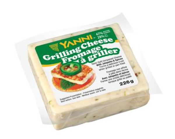 Yanni Grilling Cheese - Jalapeno and spices - 226 grams