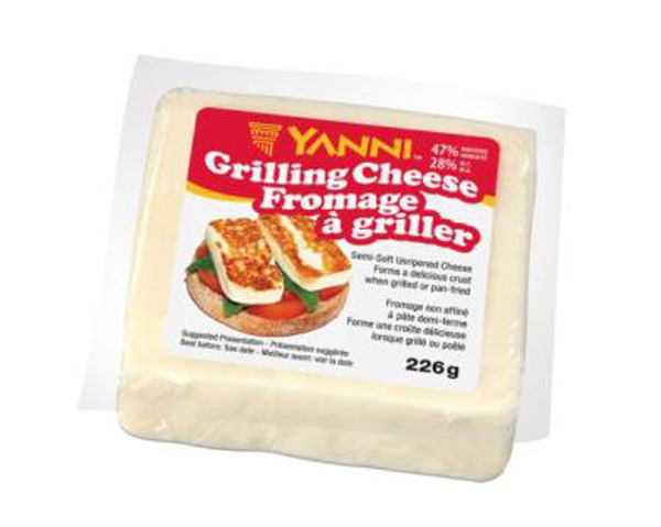 Yanni Grilling Cheese - Original - 226 grams