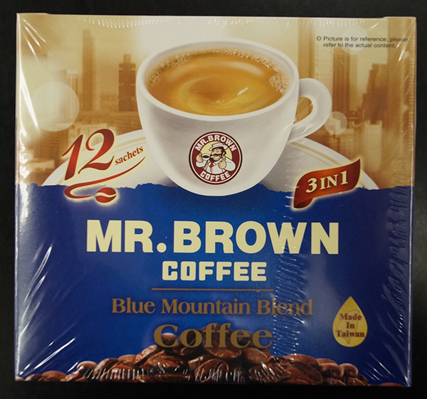 Mr. Brown Coffee - Blue Mountain Blend Coffee - 180 grams  (15 grams x 12 sachets)