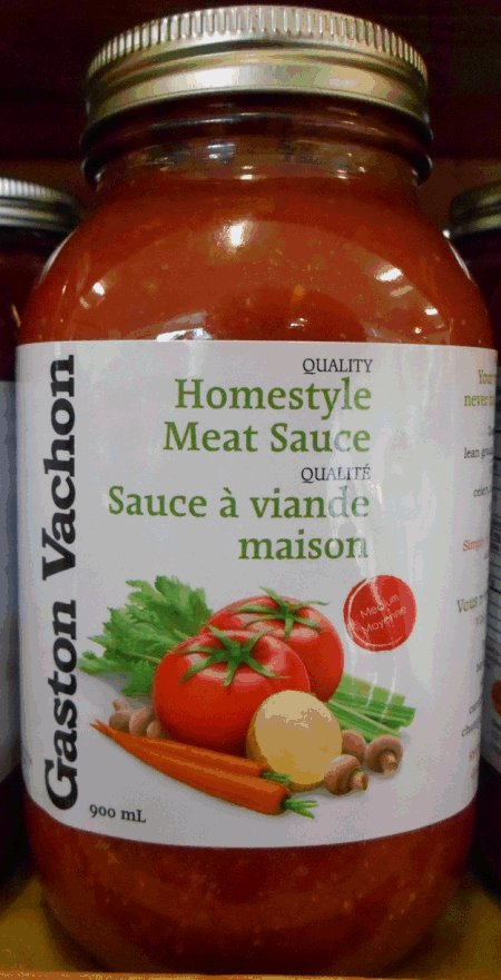 Homestyle Meat Sauce - 900 millilitre