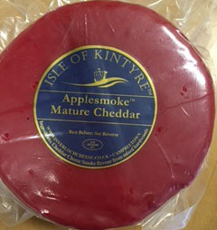 Isle of Kintyre Applesmoke Mature Cheddar - 900 gram