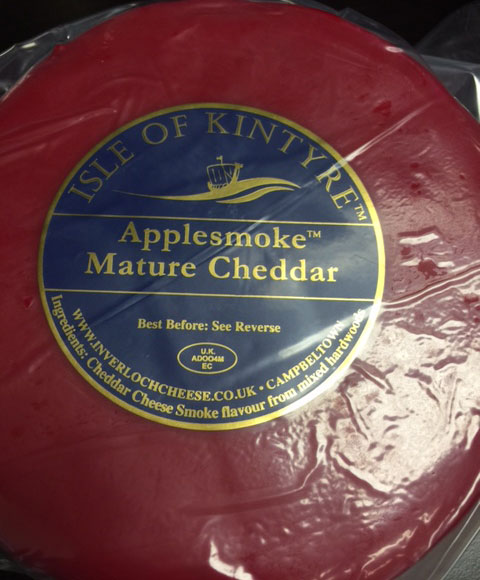 "<span lang=""en"">Isle of Kintyre - Applesmoke Mature Chedder</span>"