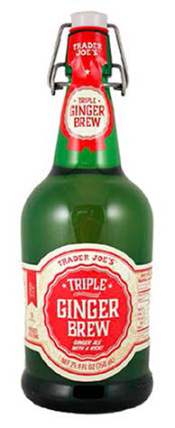 Trader Joe's brand Triple Ginger Brew